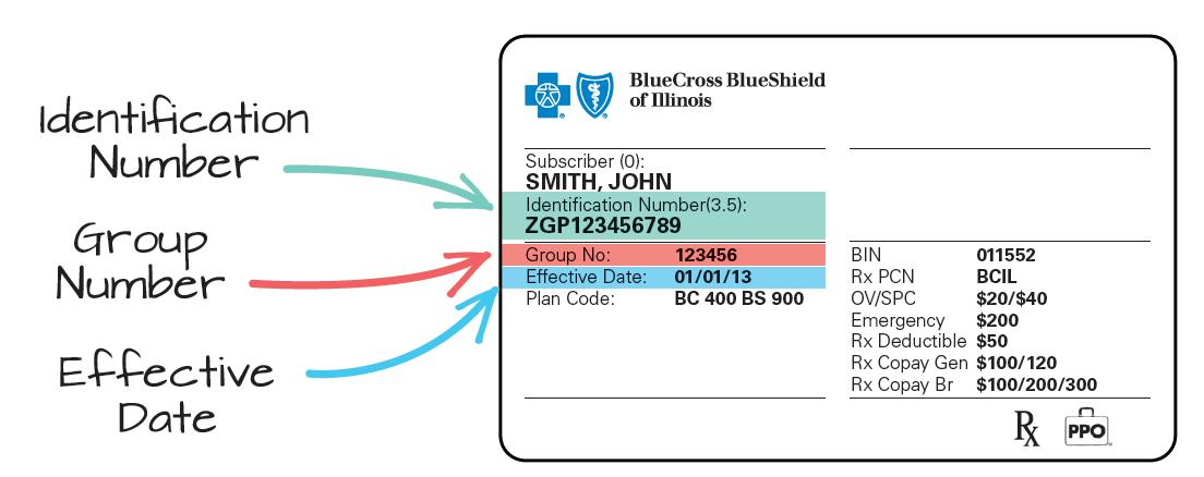 On co Blue Aderichie Member Cross Card Number Shield