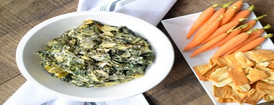Greek Yogurt Spinach And Artichoke Dip Recipe Book