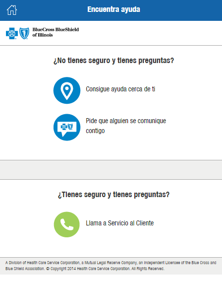 Assistance Finder IL preguntas